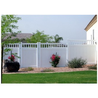 6' Tall Classic Privacy Fence with Closed Picket