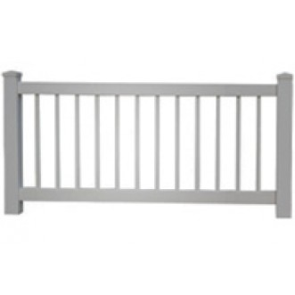 3 Tall Closed Picket Fence 3 9 Quot Picket Spacing 1 Quot X 1