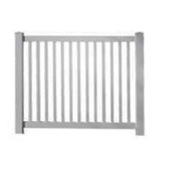 5' Tall Closed Picket Pool Fence