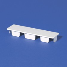 Box Of 20 1 5x5 5 Vinyl Rail Internal End Cap Rail