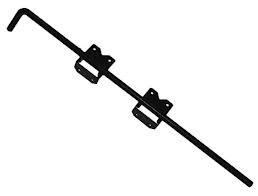 36 Quot Drop Rod Vinyl Double Gate Black Gate Hardware
