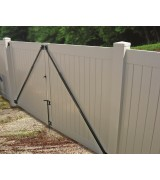 Gate Anti Sag Kit Black