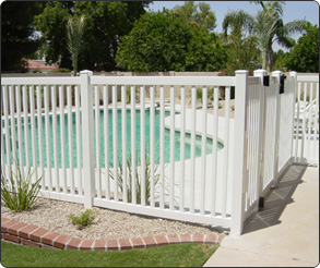 Picket Pool Fence